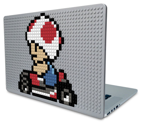 Toad Mario Kart Laptop Case