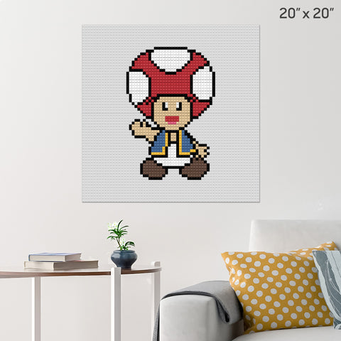 Toad Brick Poster