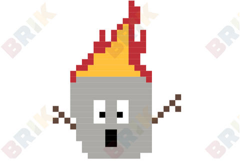 Toasted Marshmallow Pixel Art