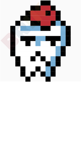 Toothache Day Pixel Art