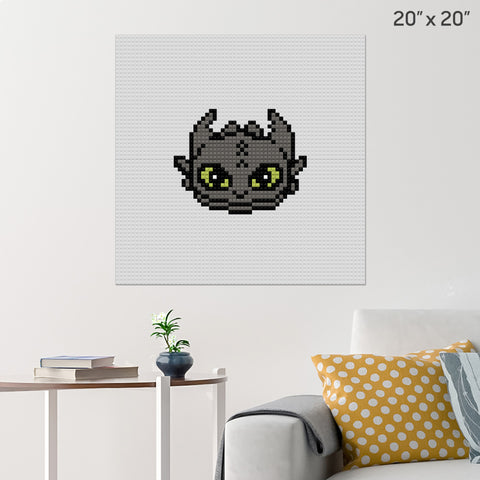 Toothless Brick Poster