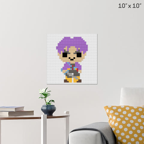 Trunks Brick Poster