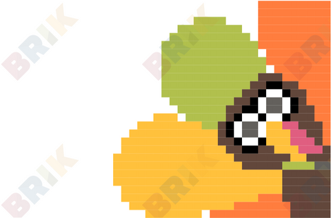 Turkey Pixel Art