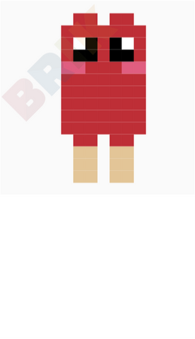 Twin Popsicle Pixel Art