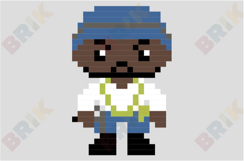 Tyreese Williams Pixel Art