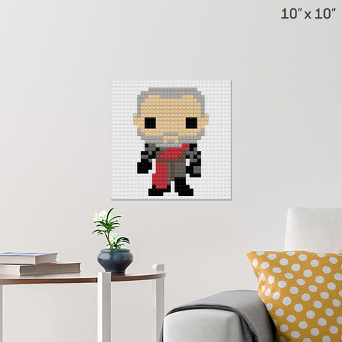 Tywin Lannister Brick Poster