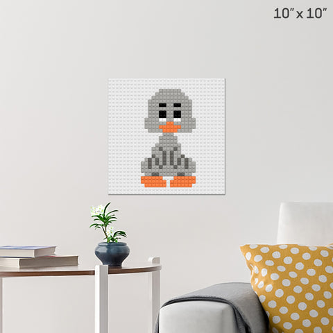 Ugly Duckling Brick Poster