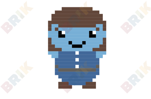 Violet Beauregarde Pixel Art