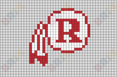 Washington Redskins Pixel Art
