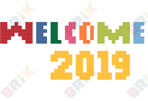 Welcome 2019 Pixel Art