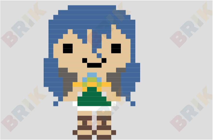 Wendy Marvell Pixel Art Brik