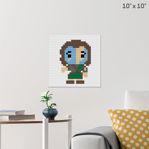 William Wallace Brick Poster