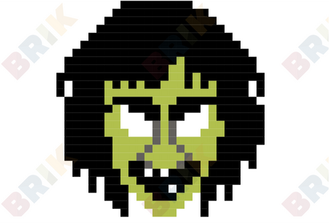 Witch Pixel Art