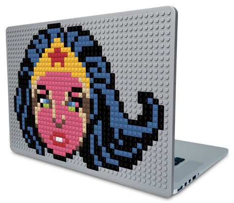 Wonder Woman Face Laptop Case