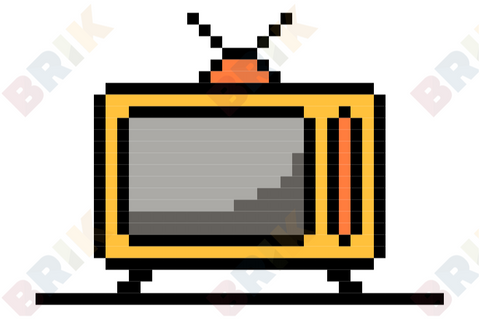 World Television Day Pixel Art