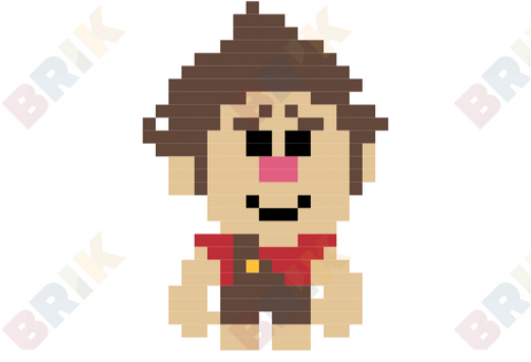 Wreck-it-Ralph Pixel Art