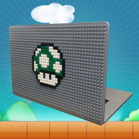 1 Up Mushroom MacBook Case