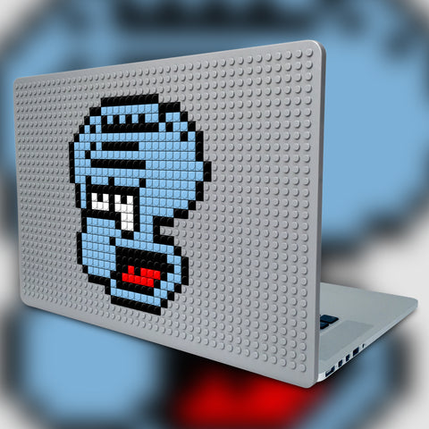 SQUIDWARD SPONGEBOB MACBOOK CASE LEGO