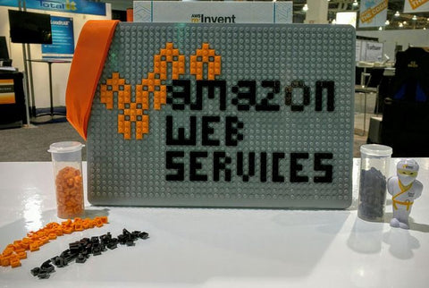 AWS Amazon Web Services Brik Lego MacBook Pixel Art