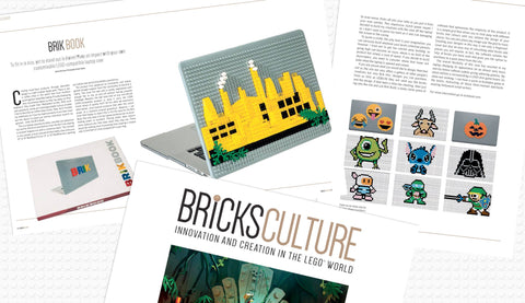 Brik Book Bricks Culture