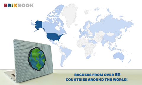 Brik Book Around the World