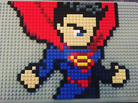 Superman MacBook LEGO Case BRIK