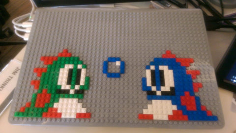 Bubble Bobble MacBook Case