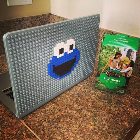 Cookie Monster MacBook Case