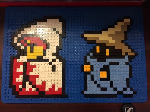 Final Fantasy MacBook Case Pixel Art