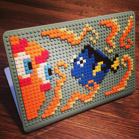 Finding Dory MacBook Case Pixel Art
