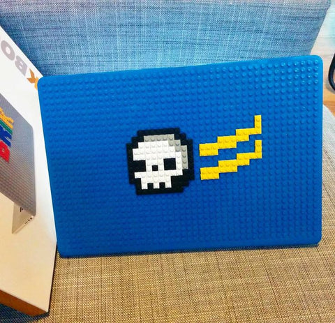 Flying Skull MacBook Case