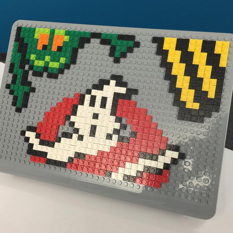 Ghostbusters MacBook Case Pixel Art