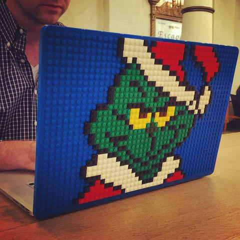Grinch MacBook Case Decal