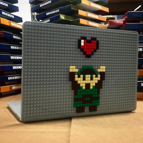 Link Heart MacBook Case