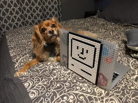 Macintosh Dog MacBook Case