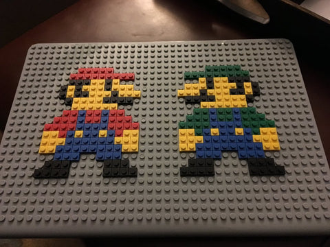 Mario Luigi MacBook Case