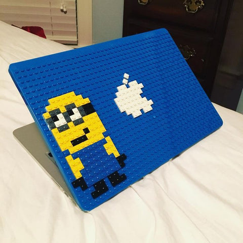 Minion Apple Brik Lego MacBook Pixel Art