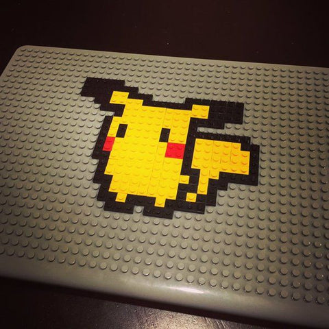 Pikachu Pokemon Brik Lego MacBook Pixel Art