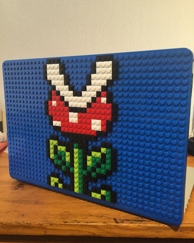 Piranha Plant Mario MacBook Case