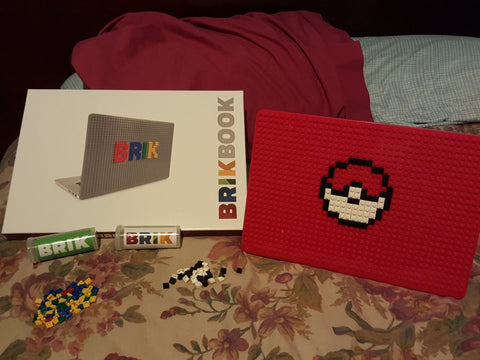 Pokeball MacBook Case