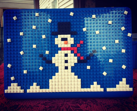 Snowman MacBook Case