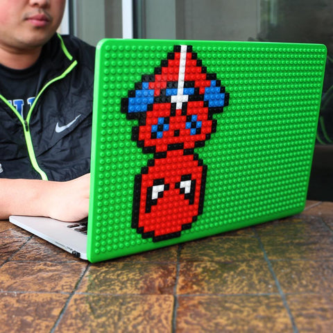 Spider Man Lego Laptop Pixel Art