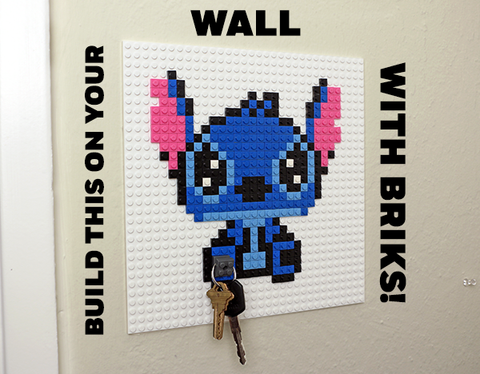 Stitch Lego Wall Pixel Art