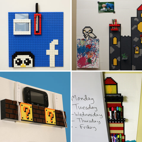 Lego Wall Ideas