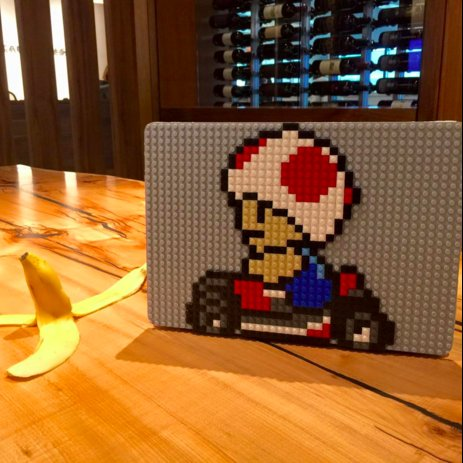 Toad Mario Kart MacBook Case