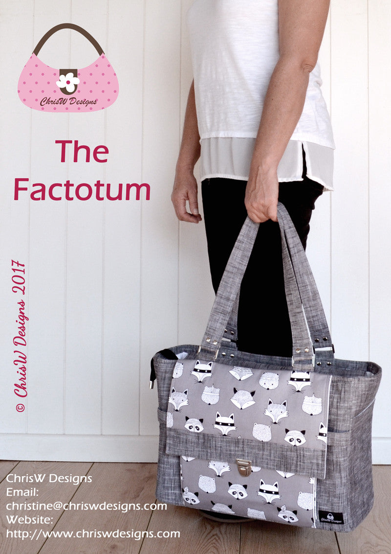 Introducing the Factotum & Minifacto for the Bag of the Month Club