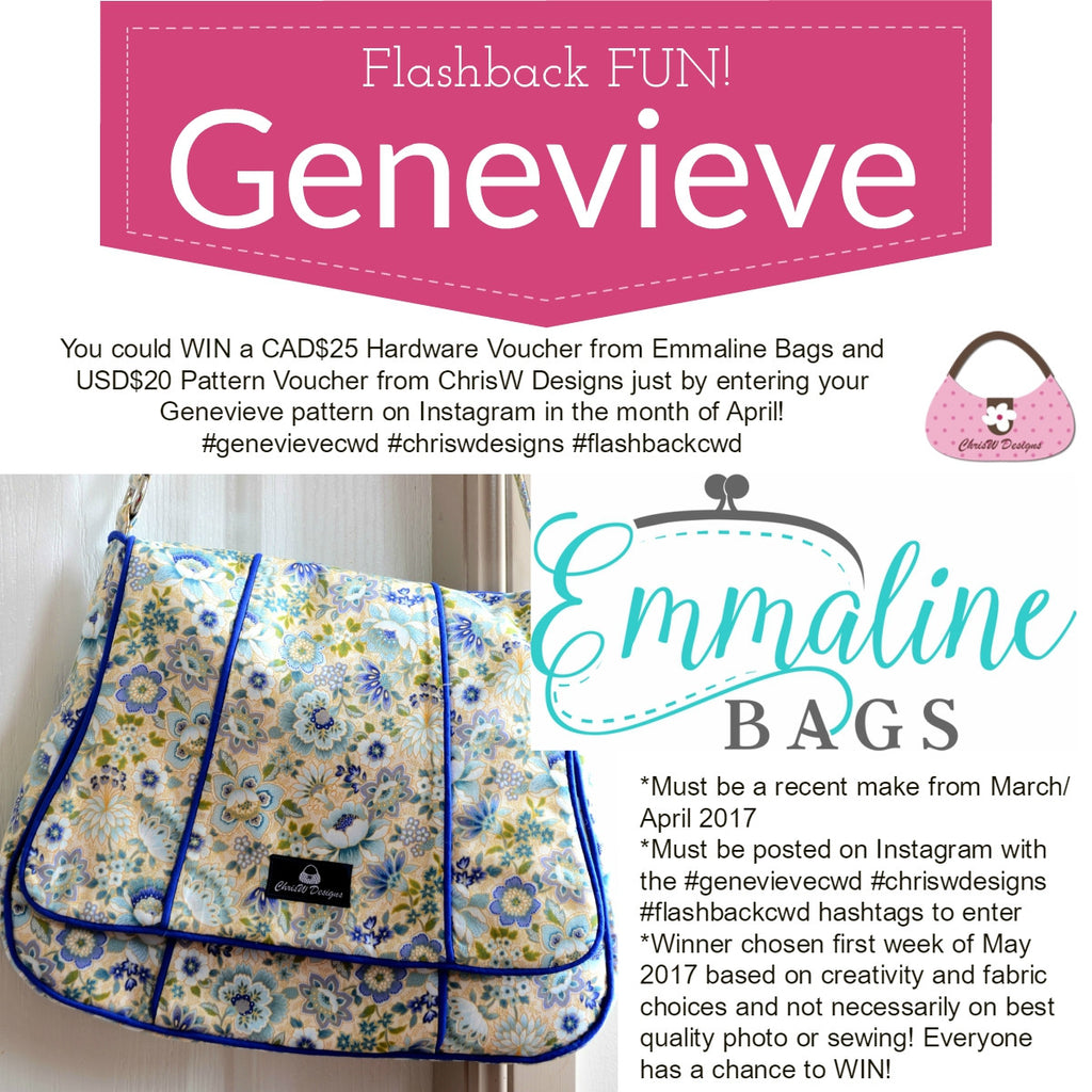 April Flashback Competition on Instagram - Genevieve!