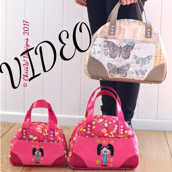 New! Video Tutorial for the Bodacious Bowler Bags!