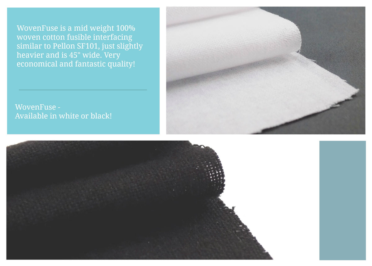 FANTASTIC New Interfacing - WovenFuse! Available NOW!