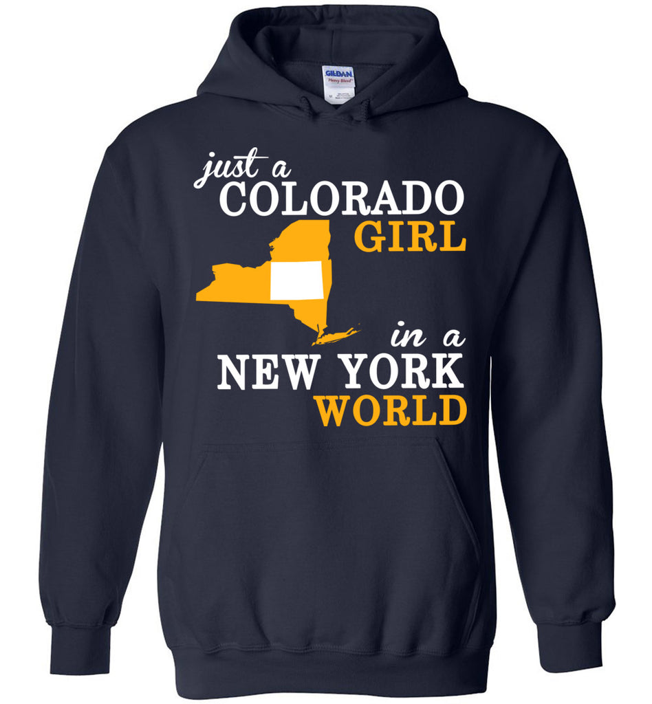 Just A Colorado Girl In A New York World Hoodie